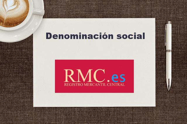Cambiar la denominación social